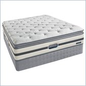 Simmons BeautyRest Recharge Songwood Luxury Firm Pillow Top Mattress Set