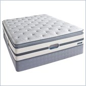 Simmons BeautyRest Recharge Songwood Plush Pillow Top Mattress Set