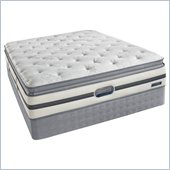 Simmons BeautyRest Recharge Melnick Plush Pillow Top Mattress Set
