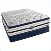 Simmons BeautyRest Recharge World Class Kimble Ave Luxury Firm Super Pillow Top Mattress Set