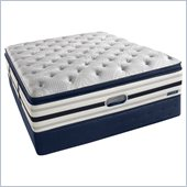 Simmons BeautyRest Recharge World Class Kimble Ave PlushSuper Pillow Top Mattress Set