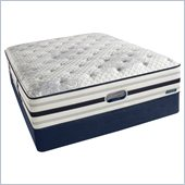 Simmons BeautyRest Recharge World Class River Lily Plush  Mattress Set