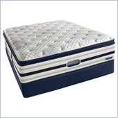 Simmons BeautyRest Recharge World Class River Lily Luxury Firm Super Pillow Top Mattress Set