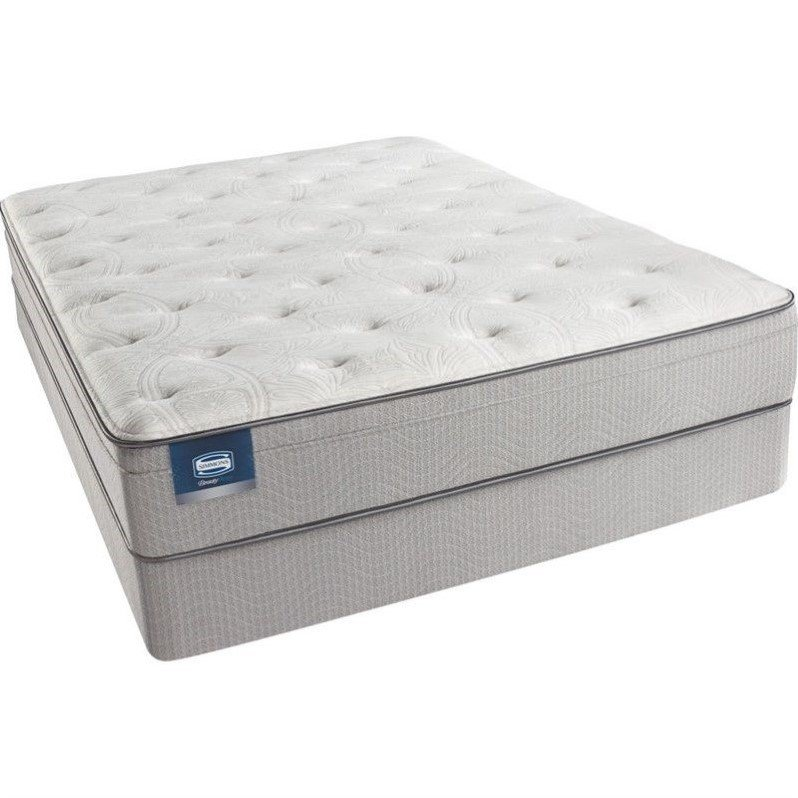 BeautySleep Adeline Pl Plush Euro Top Mattress Set-California King / Low Profile