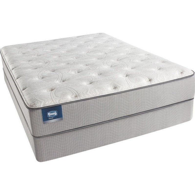 BeautySleep Adrian Ave Luxury Firm Mattress Set-Full / Low Profile