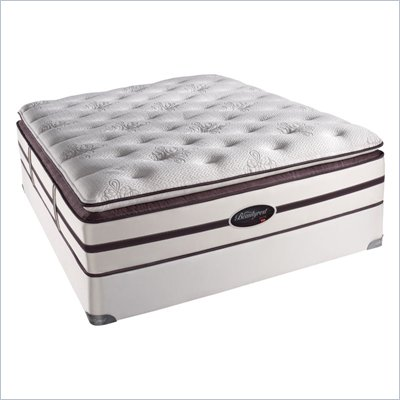 Simmons BeautyRest Elite Willett Plush Super Pillow Top Mattess