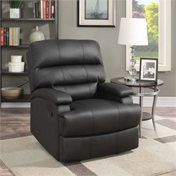 Lifestyle Solutions Scottsdale Relax-A-Lounger Faux Leather Recliner