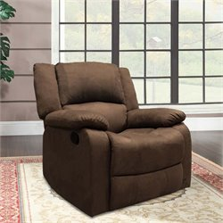 Lifestyle Solutions Auroa Relax-A-Lounger Recliner in Chocolate
