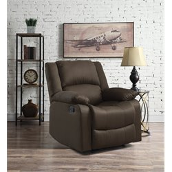 Relax-A-Lounger Harrisburg Recliner in Chocolate