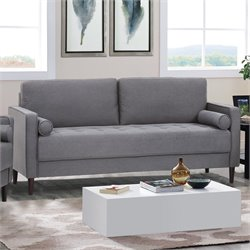 Lifestyle Solutions Jareth Sofa in Heather Gray