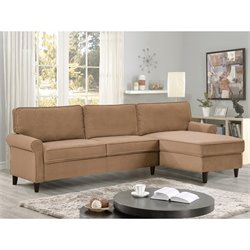 Lifestyle Solutions Arnina Sectional Sofa Set in Dove