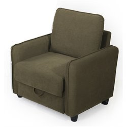 Lifestyle Solutions Stanford Accent Chair in Taupe