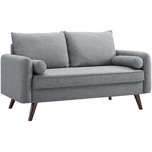 LifeStyle Solutions Cambridge Loveseat in Gray