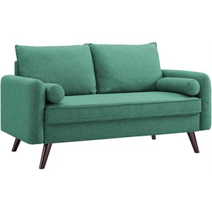 LifeStyle Solutions Cambridge Loveseat in Sea