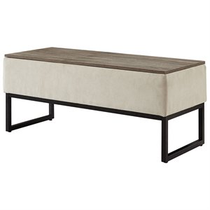 LifeStyle Solutions Relax A Lounger Skyline Lift Top Coffee Table