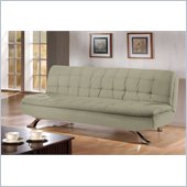 Lifestyle Solutions Medina Casual Convertible Sofa in Olive