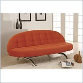 Lifestyle Solutions Capitola Casual Convertible Sofa in Copper