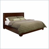 Lifestyle Solutions Cornell California King Platform Bed in Dark Walnut
