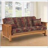 LifeStyle Solutions Rainer Solid Oak Futon Frame