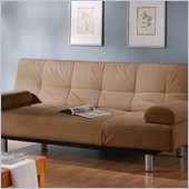 LifeStyle Solutions Aruba Casual Convertible Sofa in Khaki