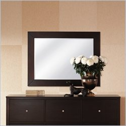 Lifestyle Solutions 500 Series Wall Mirror in Cappuccino