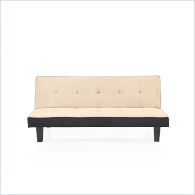 Lifestyle Solutions Blake Convertible Sofa in Khaki