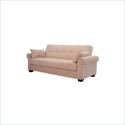 Lifestyle Solutions Roxbury Casual Convertible Sofa in Beech