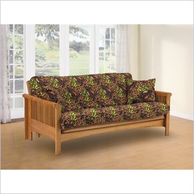 LifeStyle Solutions Mt. Baker Solid Oak Futon Frame