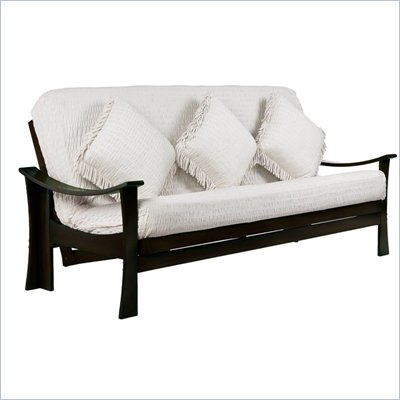 Lifestyle Solutions Zen Futon Frame in Espresso