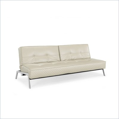 Lifestyle Solutions Copenhagen Convertible Sofa in Cream