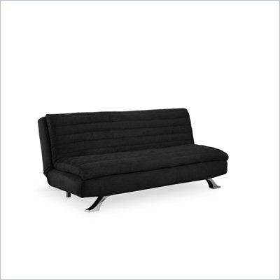 Lifestyle Solutions Medina Casual Convertible Sofa in Black