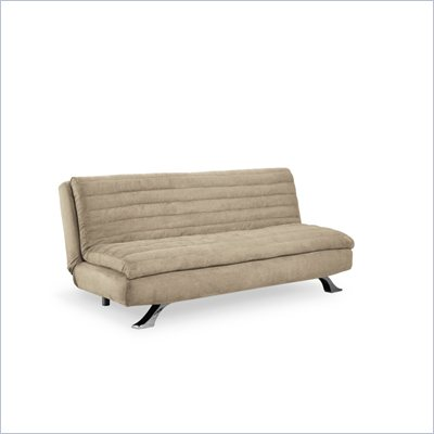 Lifestyle Solutions Medina Casual Convertible Sofa in White