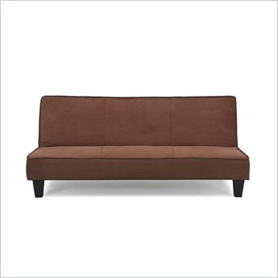 Lifestyle Solutions Serta Dream Orleans Convertible Sofa in Cocoa