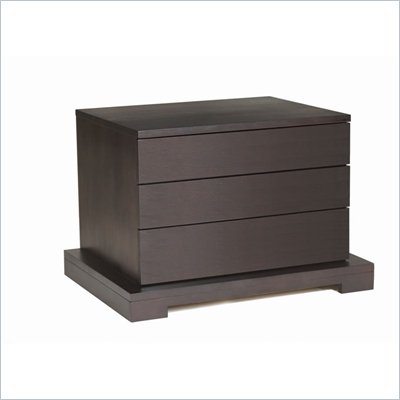 Lifestyle Solutions Zurich 3 Drawer Nightstand