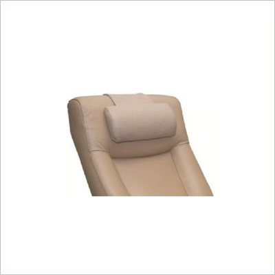 Mac Motion Chair Top Grain Leather Cervical Pillow in Cobblestone Tan (Set of 3)