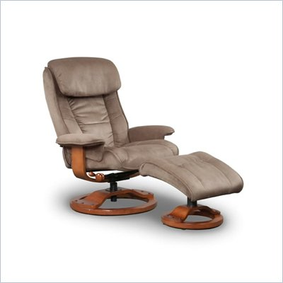 Mac Motion 818 Series Sage Softskin Padded Microfiber Recliner Chair