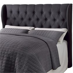 Coaster Murrieta King Upholstered Headboard in Charcoal