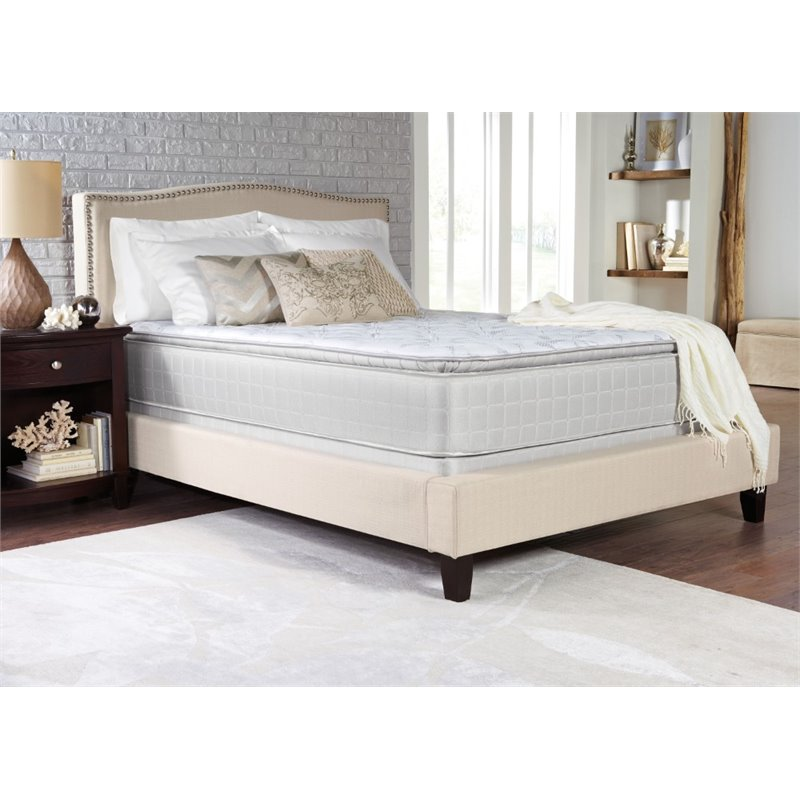 Coaster Marbella Pillow Top Twin Mattress