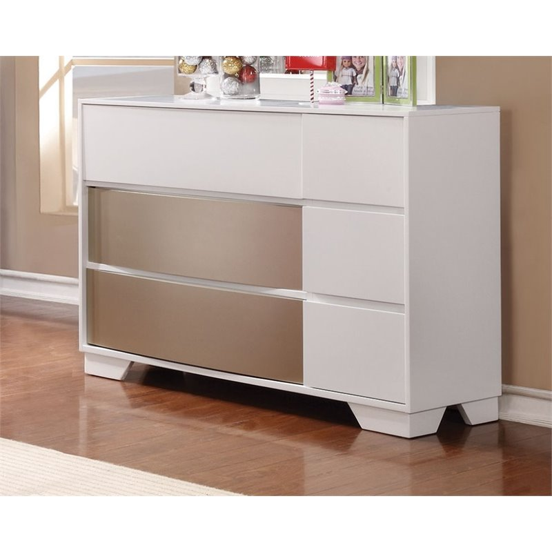Coaster Havering Small Scale Dresser in White