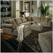 ADD TO YOUR SET: Coaster Westwood Hardwood Chenille Pillow Top Sectional Sofa in Olive Green