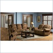 Coaster Ergonomic 3 Piece Reclining Living Room Set