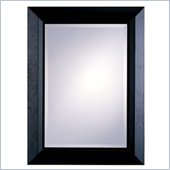 Coaster Bevelled Cheval Mirror in Cappuccino Finish