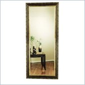 Coaster Contemporary Rectangular Wood and Gold Mirror