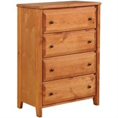 Coaster Rustic Four Drawer Dresser