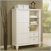 Coaster Classic Eight Drawer Chest in White Finish