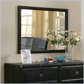 Coaster  Mirror with an Upholstered Frame in Dark Drown Bycast