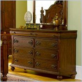 Coaster  Six Drawer Dresser in Rich Brown