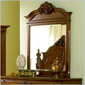 Coaster  Mirror in Rich Brown
