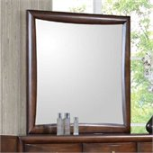 Coaster Hillary and Scottsdale Mirror in Warm Brown Finish