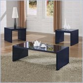 Coaster Italy Collection 3 Piece Coffee Table Set